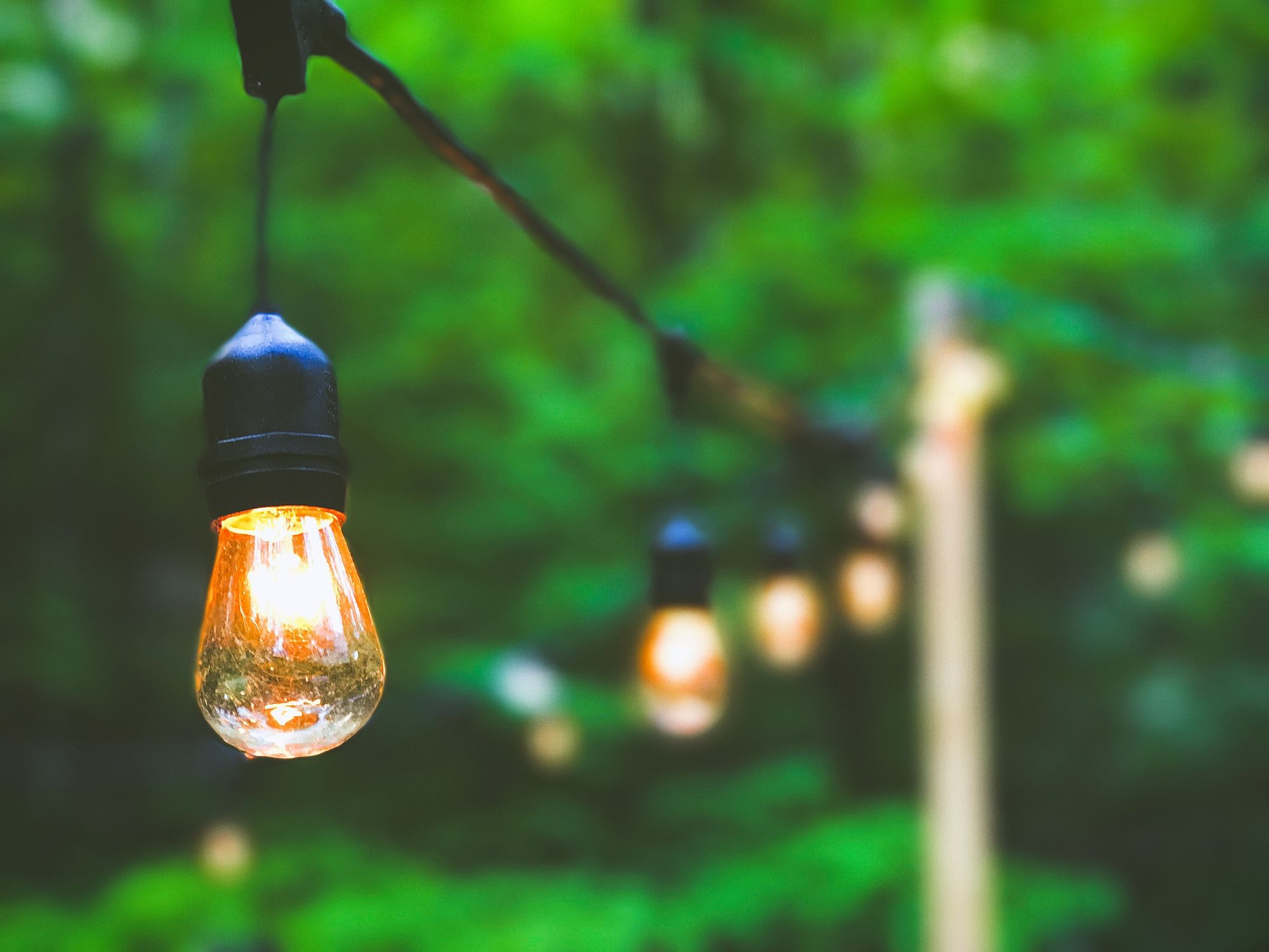 String Lights, Green Walls, and 11+ Other Ways to Transform Your Outdoor Space