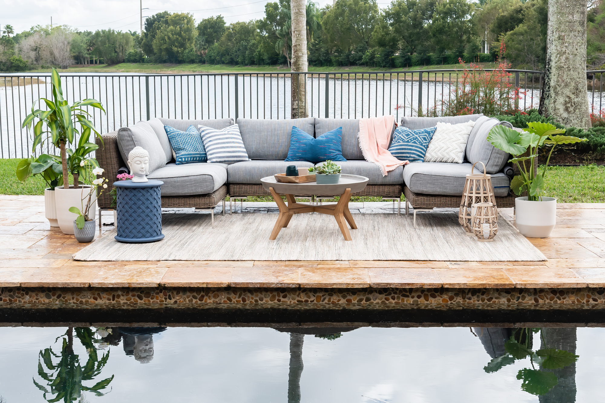 How to Use Furniture, Plant Life, and Personal Style to Create an Outdoor Sanctuary