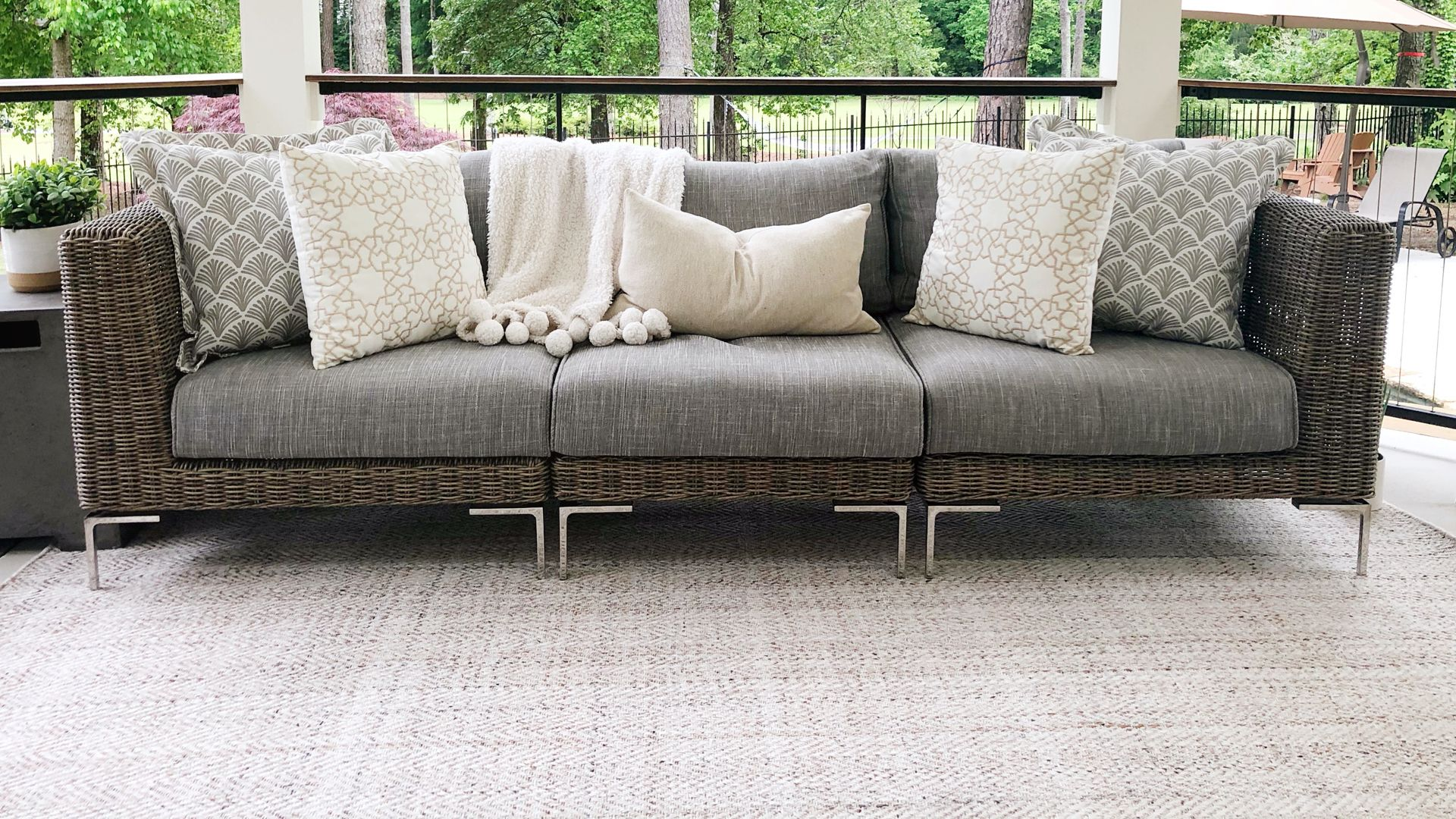 Indoor comfort. Outdoor tough. The 1188 Rug Collection