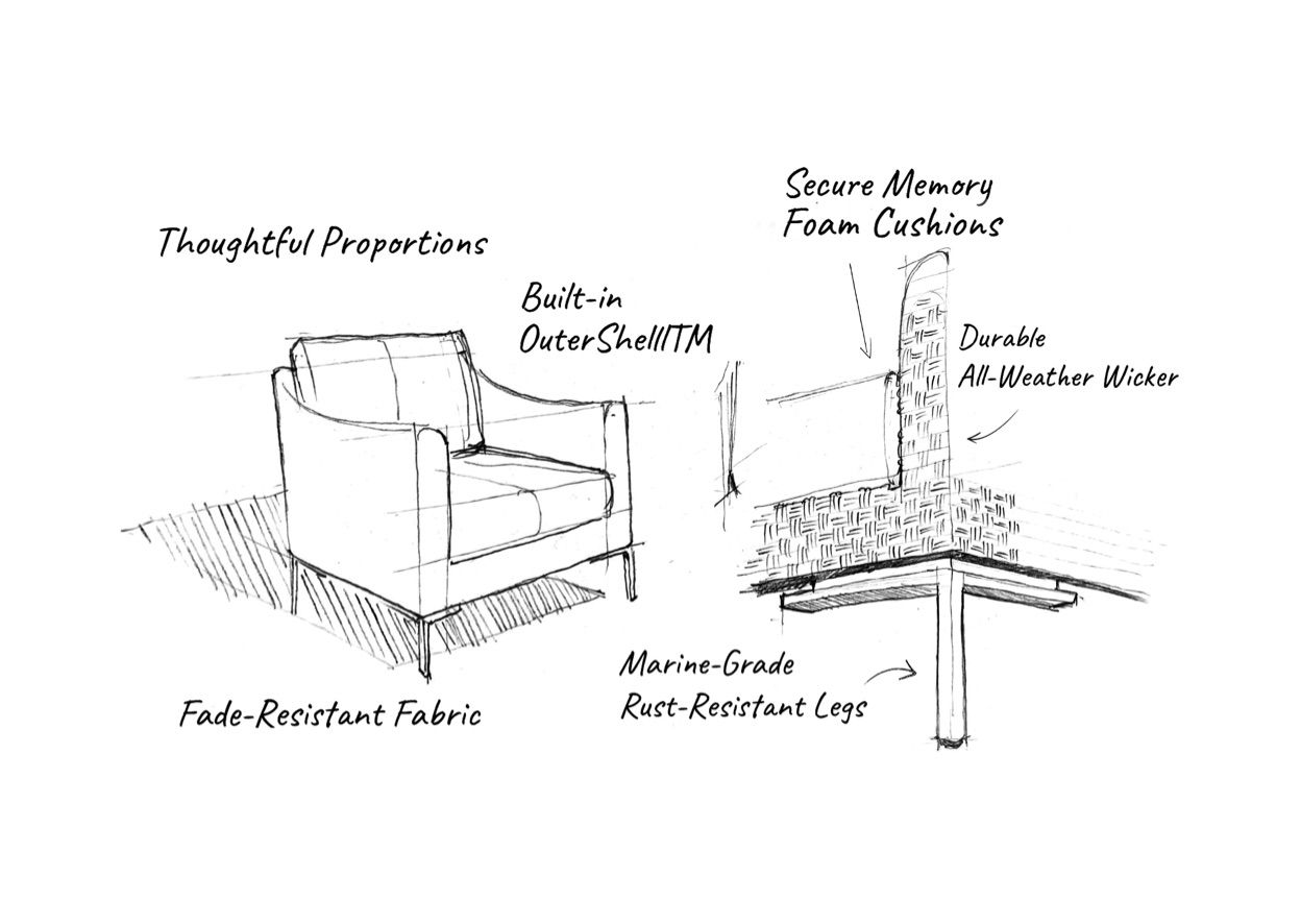 Behind The Design: The Outer Wicker Armchair