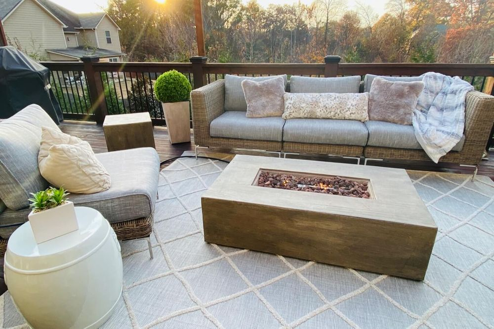 Outer's Performance Fabric outdoor furniture