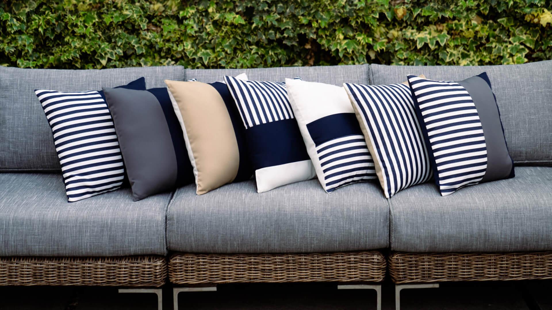 Behind the Design: Outdoor Throw Pillows