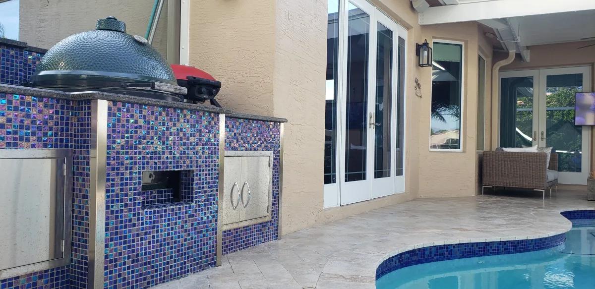 Outdoor Kitchen backyard decor