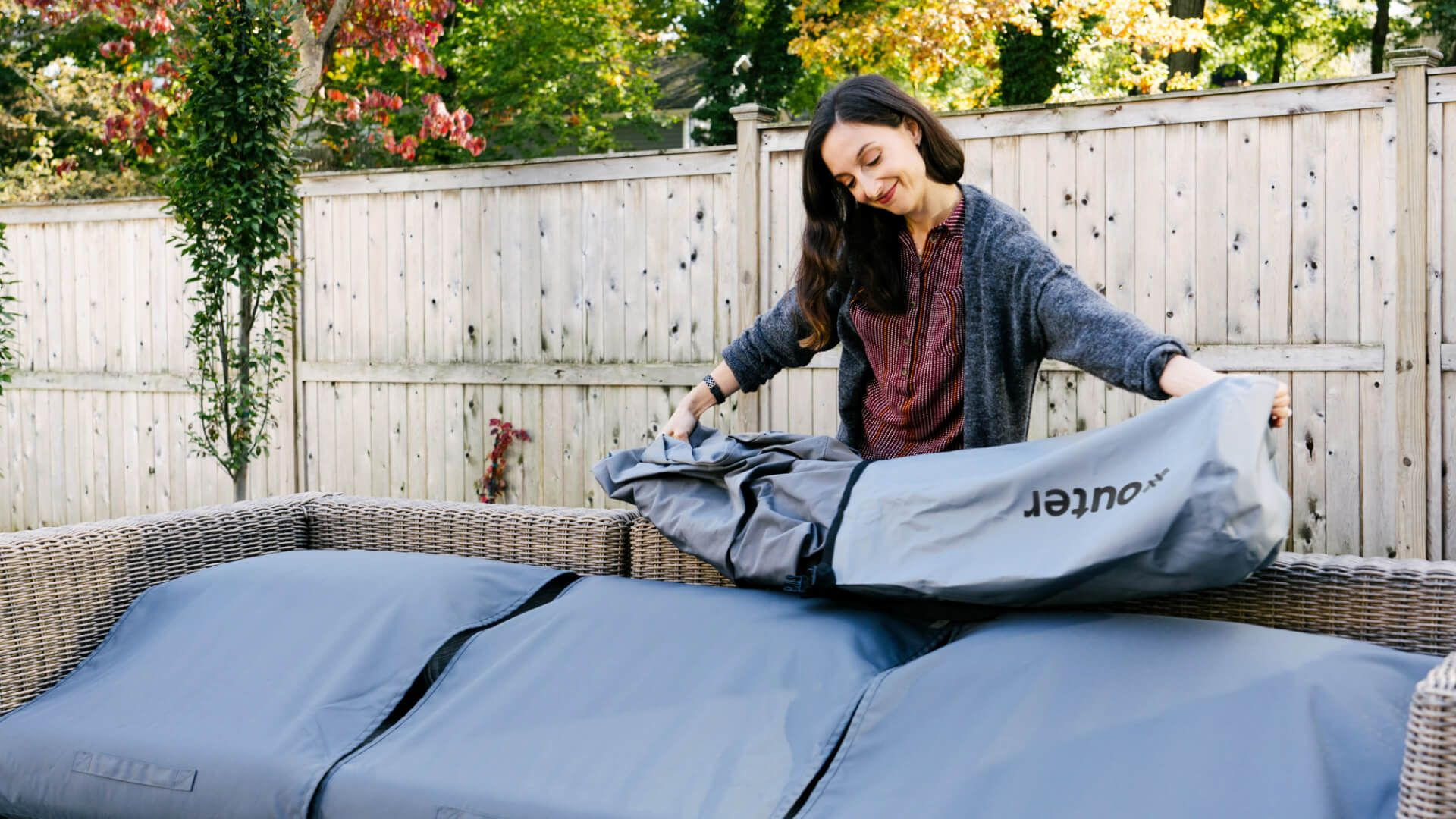 All-Weather Covers Are Now Here for Wicker, Aluminum, and Teak Sofas!