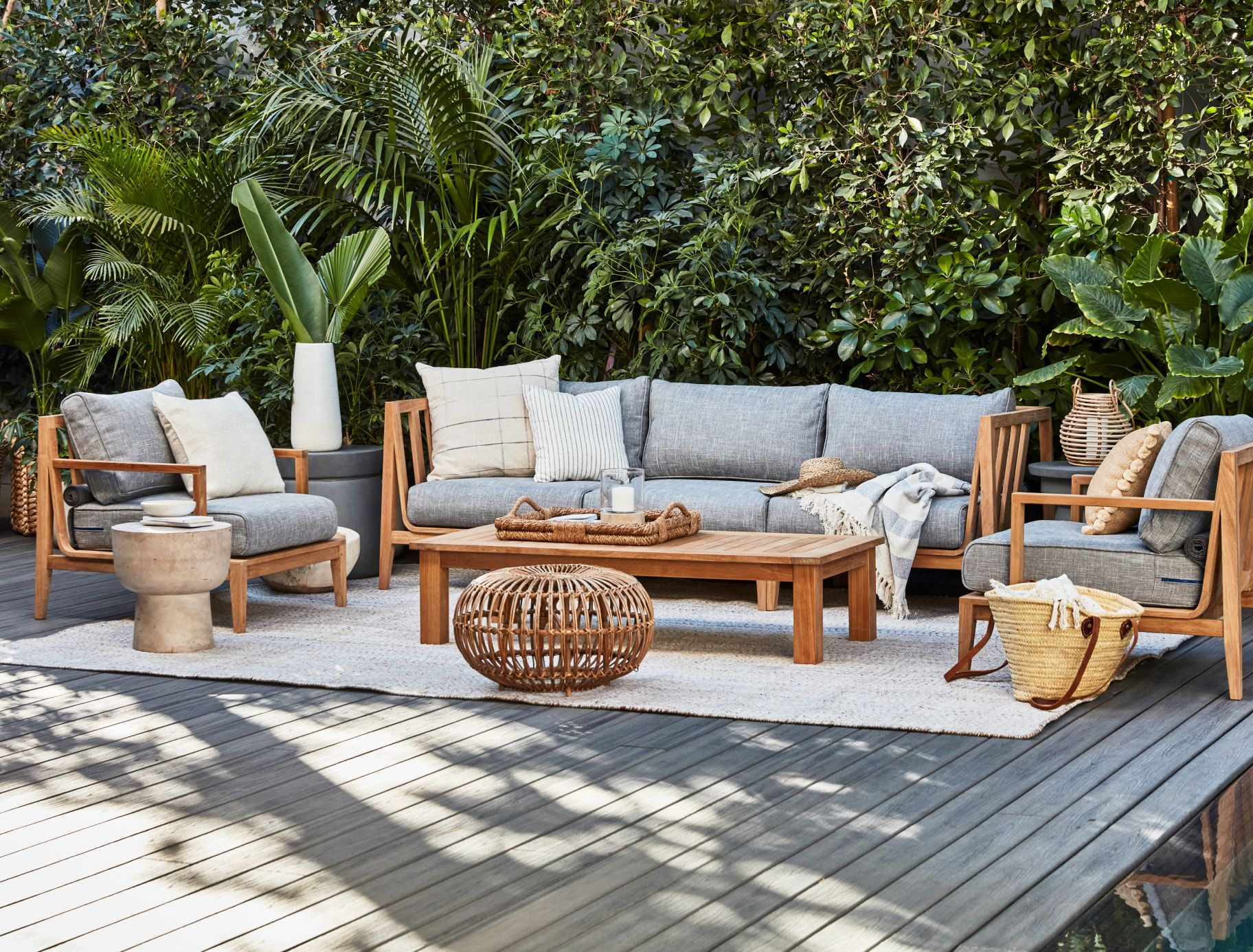 The Best Wood For Outdoor Furniture | What To Know Before You Shop