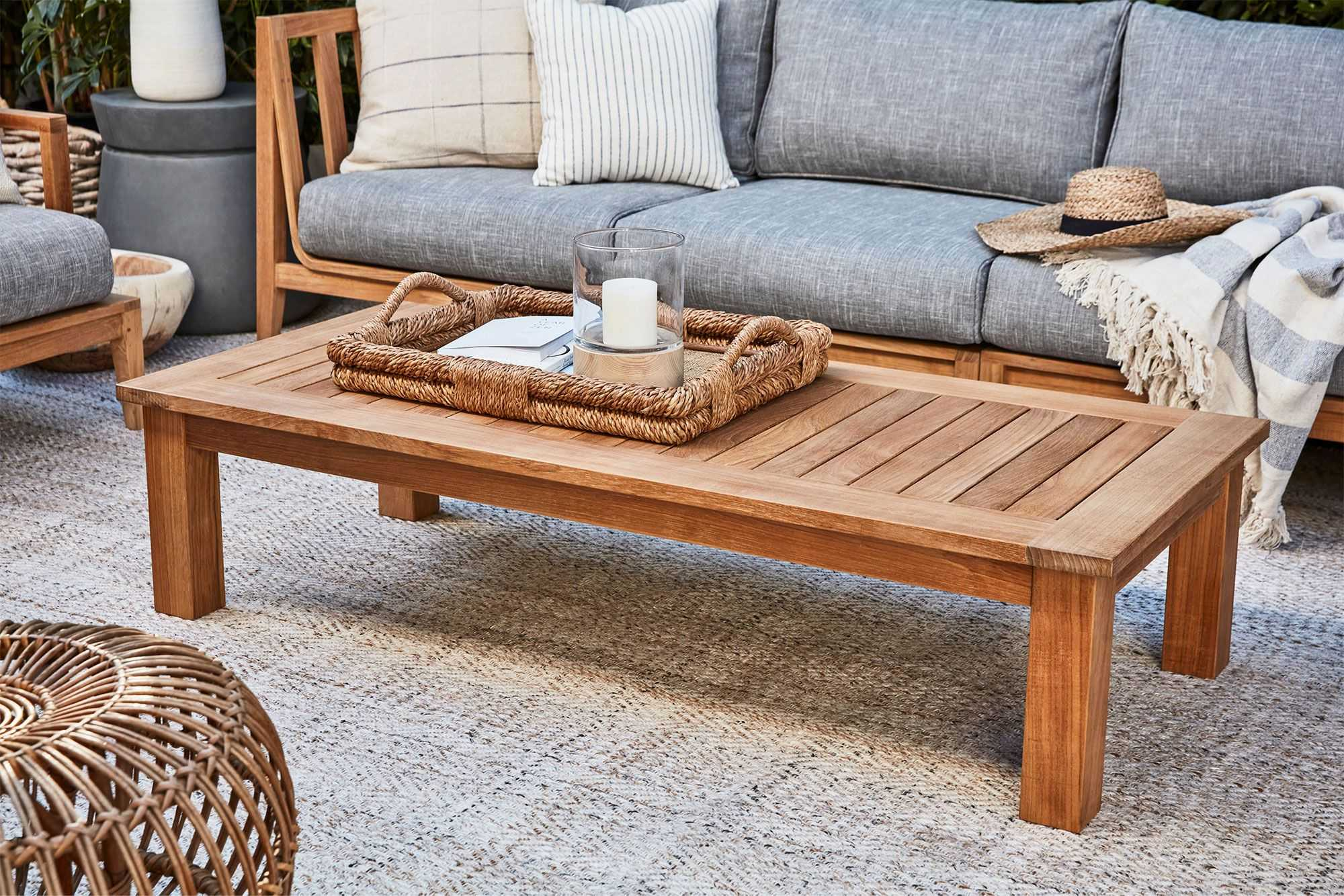 How To Choose An Outdoor Coffee Table: The Complete Buying Guide